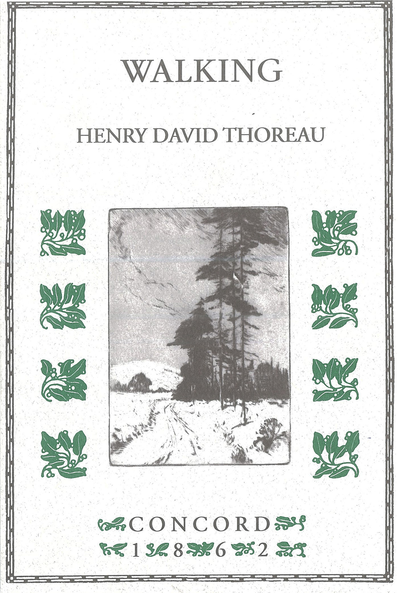 henry david thoreau walking essay Includes thoreau's reform essays, walking essays and his natural history essays thoreau's reputation as a skilled writer of nonfiction prose in the essay form places him among the most influential essayists in the american literary tradition.